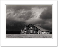 Barn and Storm Clouds